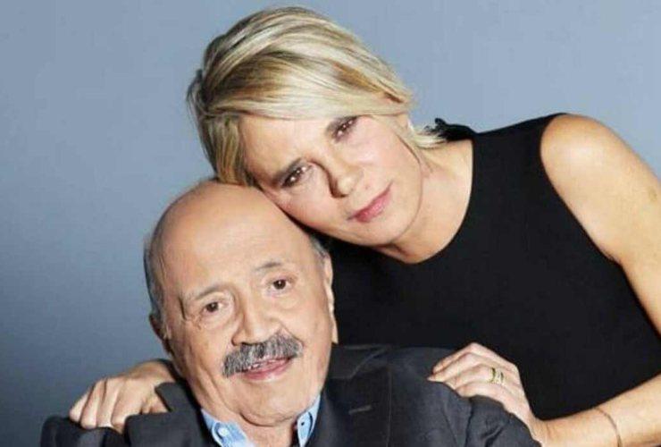Maria De Filippi e Maurizio Costanzo - meteoweek