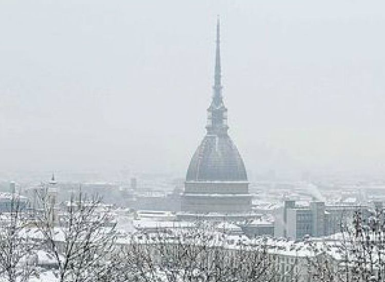 neve sul nord italia
