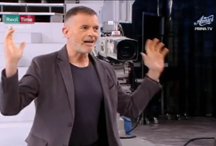 Stefano Massini ad Amici 19 - meteoweek