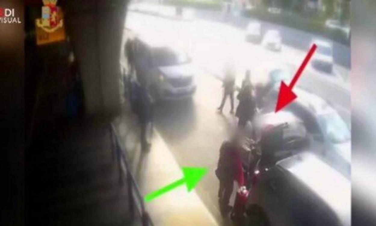 taxista spacca naso a cliente