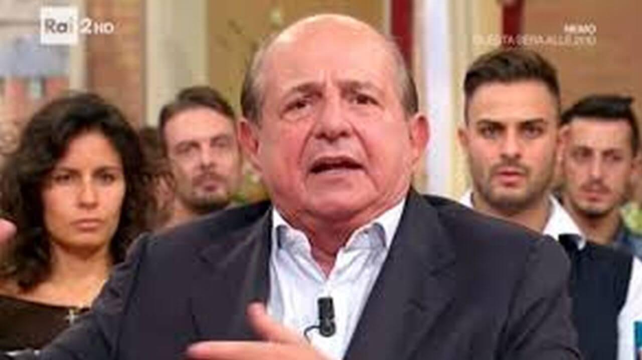 Giancarlo Magalli, incidente stradale sulla Cassia: le sue c