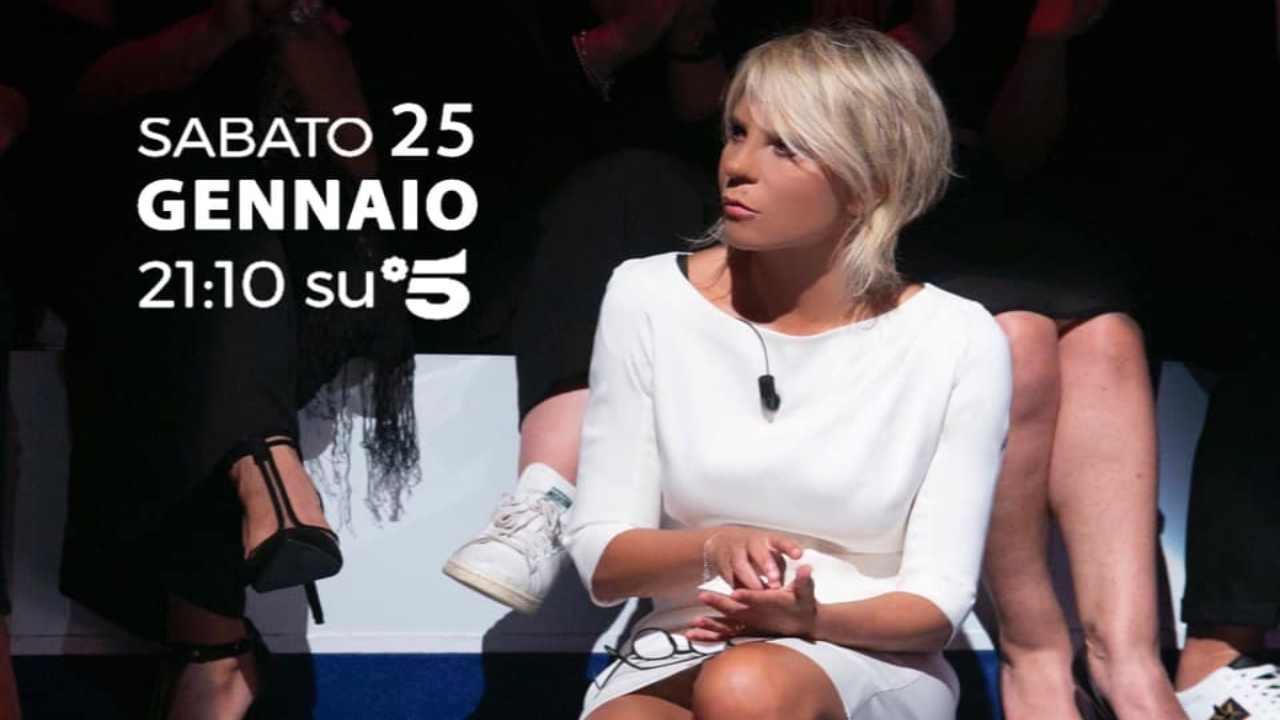 Stasera Tv 25 Gennaio | Canale 5 | C'è Posta per Te| Anticip