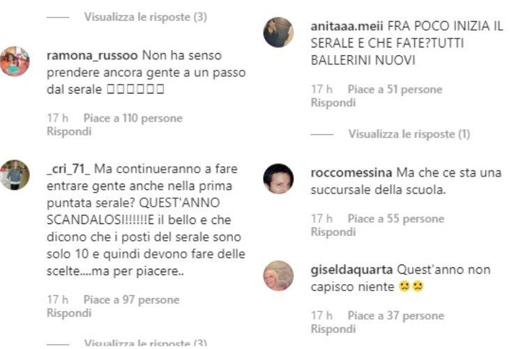 Commenti Instagram - meteoweek