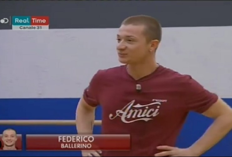 Federico ad Amici 19 - meteoweek