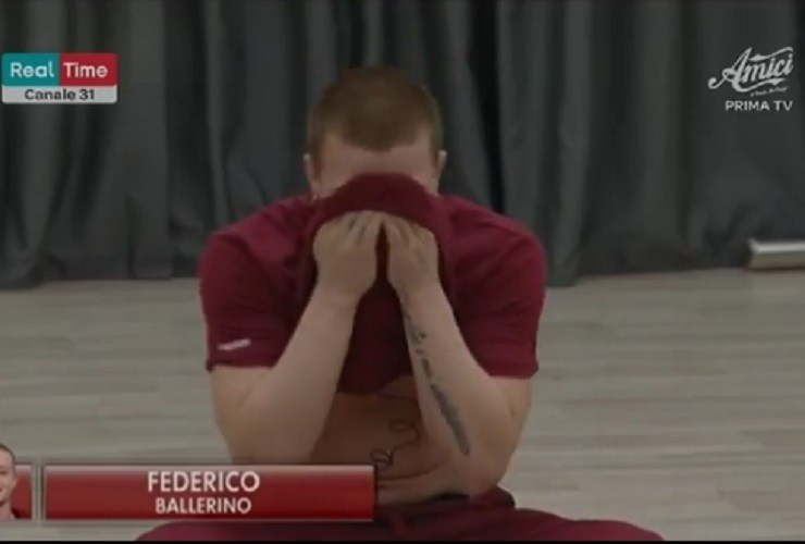Federico in crisi ad Amici 19 - meteoweek