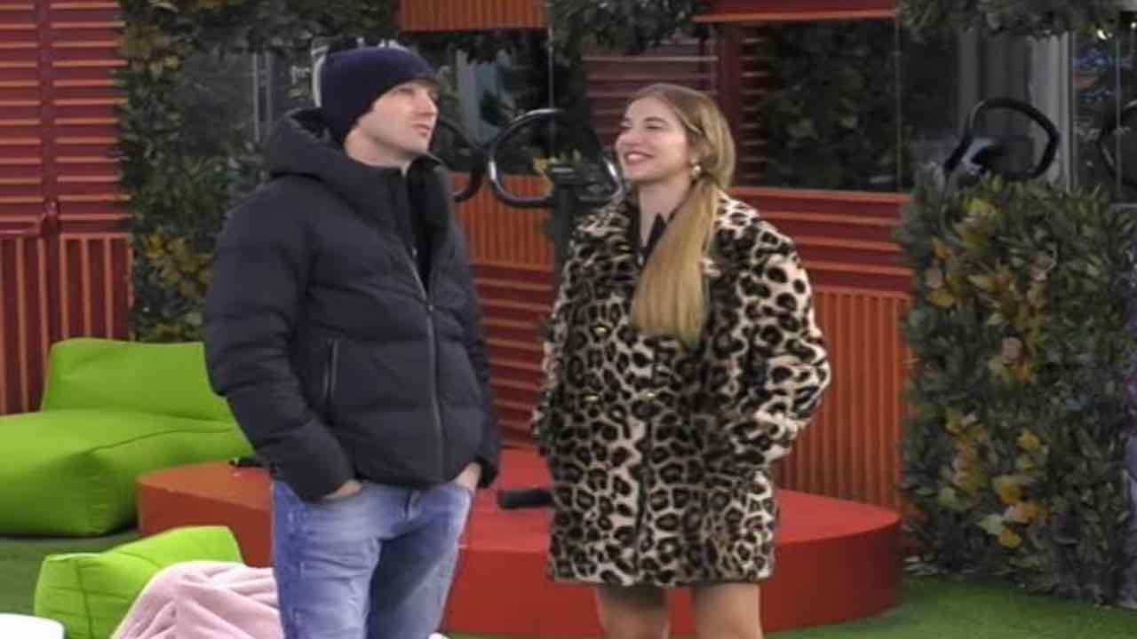 Clizia Incorvaia flirt Paolo
