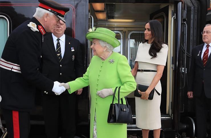Regina Elisabetta Ii, Meghan Markle