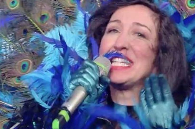 Il Cantante Mascherato, Emanuela Aureli, Il Pavone