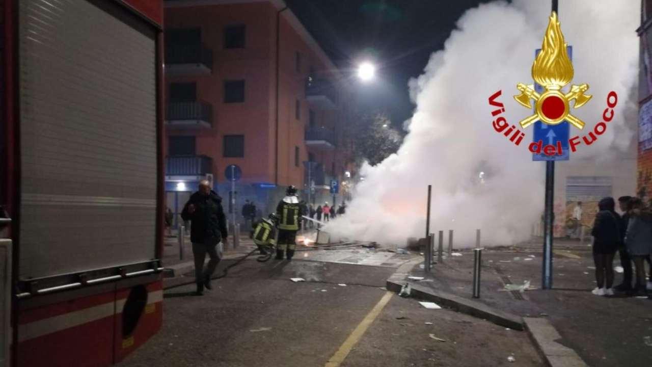 pompieri via gola milano
