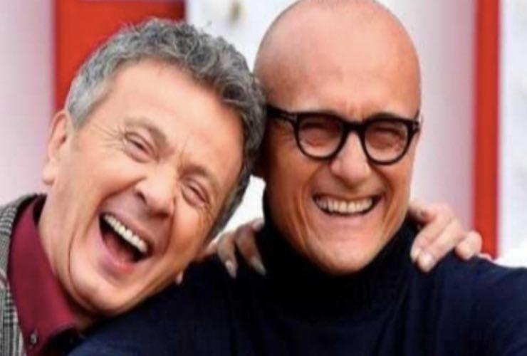 Pupo e Alfonso Signorini - Meteoweek