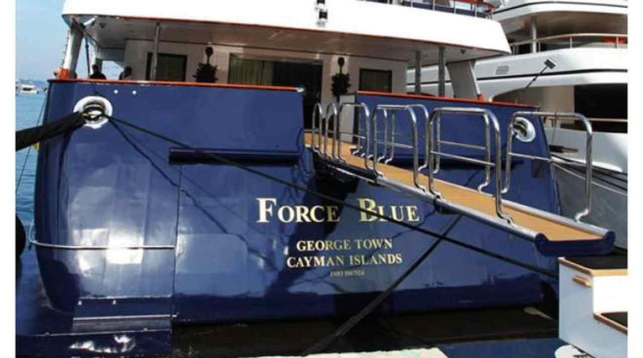 Favori per riavere yacht Force Blue, chiuse indagini su Bria
