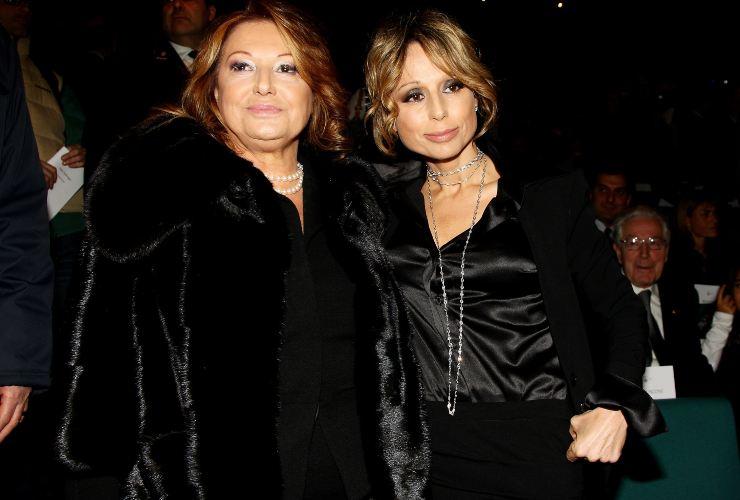 Carla Elvira Lucia dall'Oglio e Marina Berlusconi-Meteoweek.com