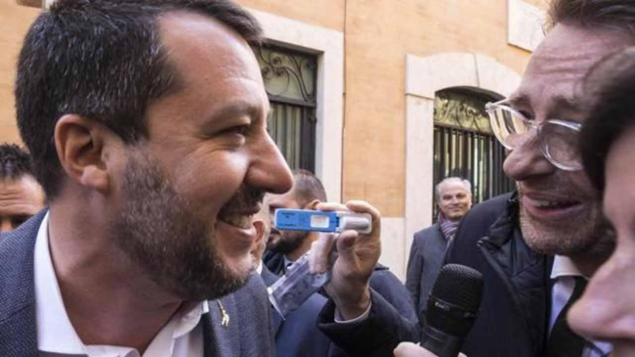 """Salvini: """"Faccio il test antidroga, ma lo facciano anche gli"""