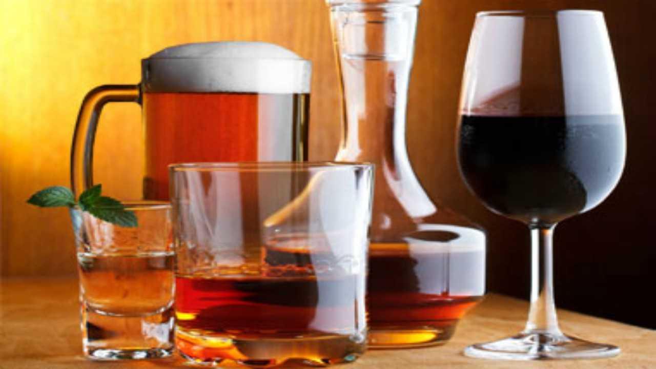 dieta dimagrante con alcolici