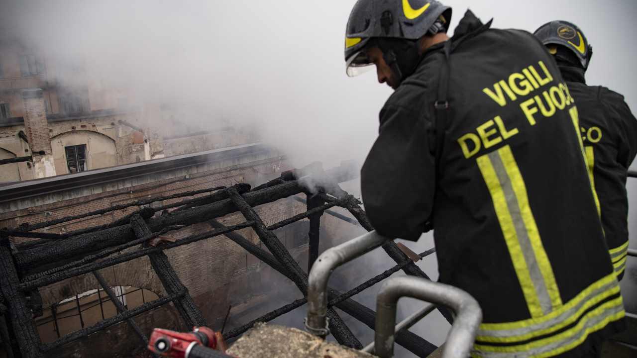 Incendio in casa Aler, due morti a Cernusco sul Naviglio