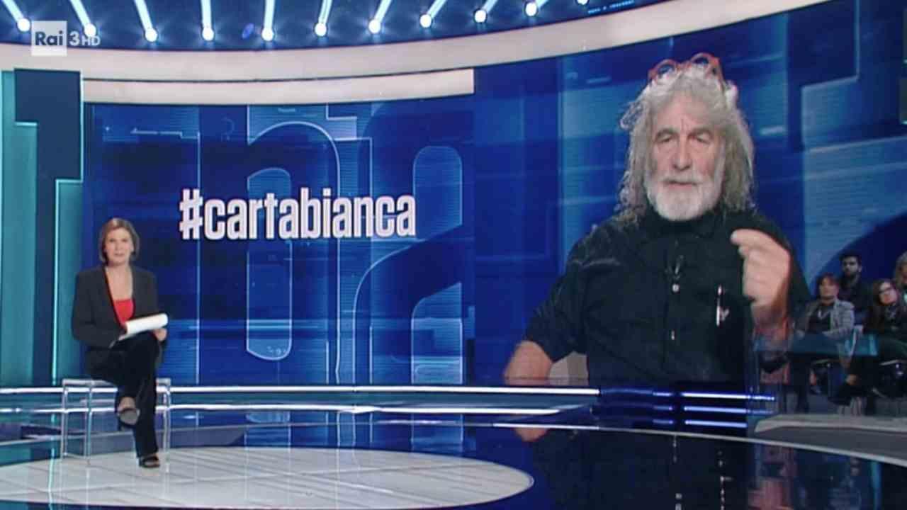 Stasera tv 25 febbraio | Raitre | Cartabianca | Anticipazion