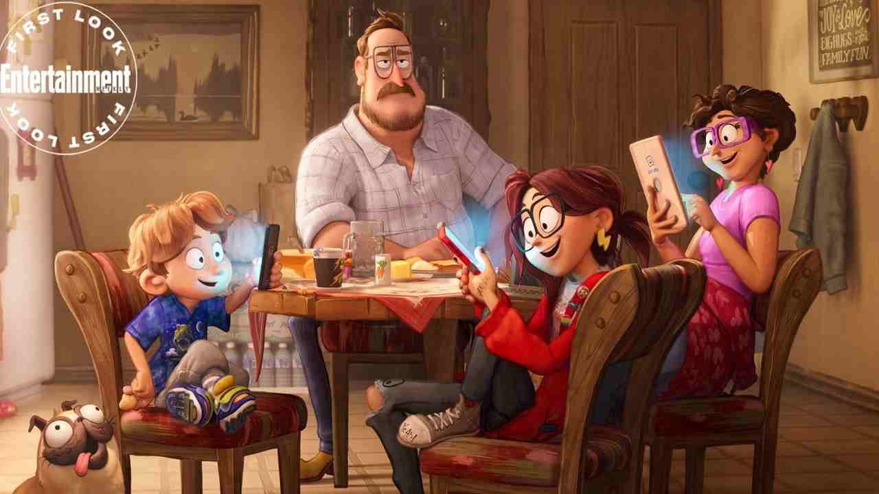 Connected | le prime foto del film d'animazione prodotto da Phil Lord e Chris Miller
