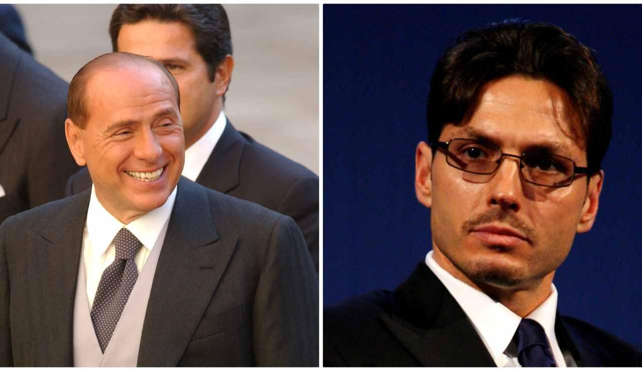 Silvio Berlusconi e Pier Silvio-Meteoweek.com