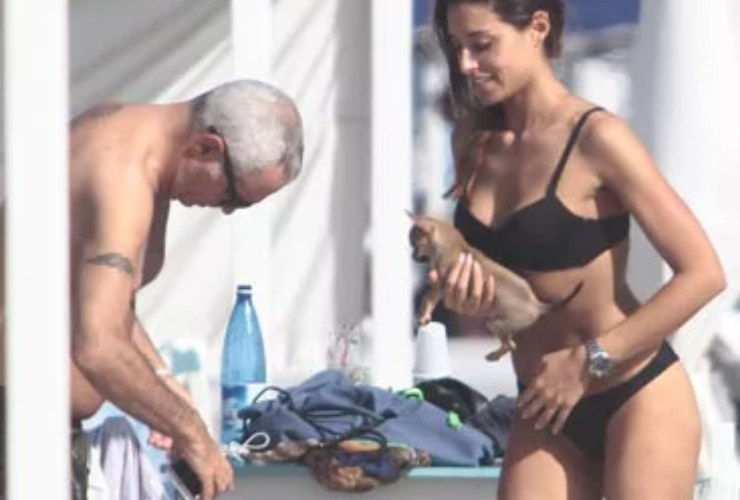 Giorgio Panariello e Claudia-Meteoweek.com