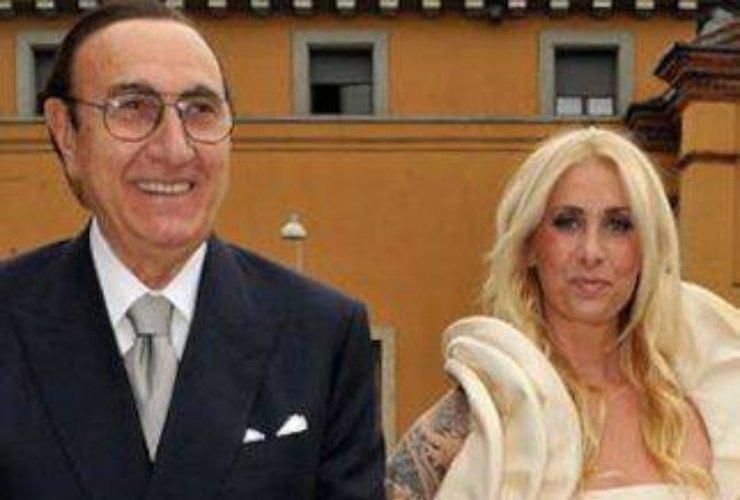 Pippo Baudo e figlia-meteoweek.com