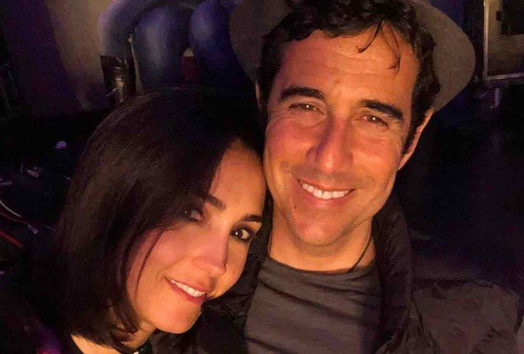Caterina Balivo e il marito - meteoweek