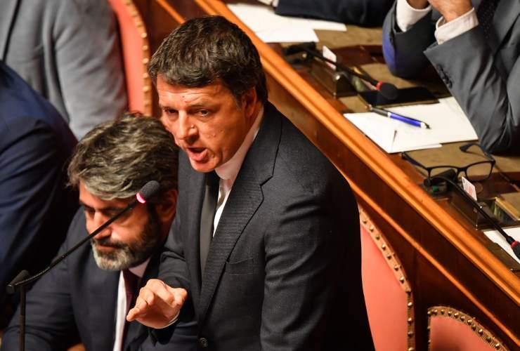 Renzi Covid due anni intervento Senato