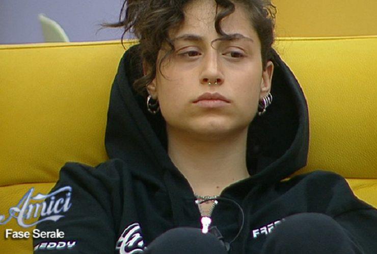 Amici 19, Giulia Molino teme di non accedere alla finale