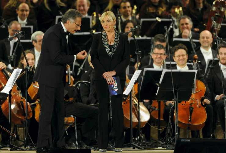 Antonella Clerici su Paolo Bonolis: retroscena piccante