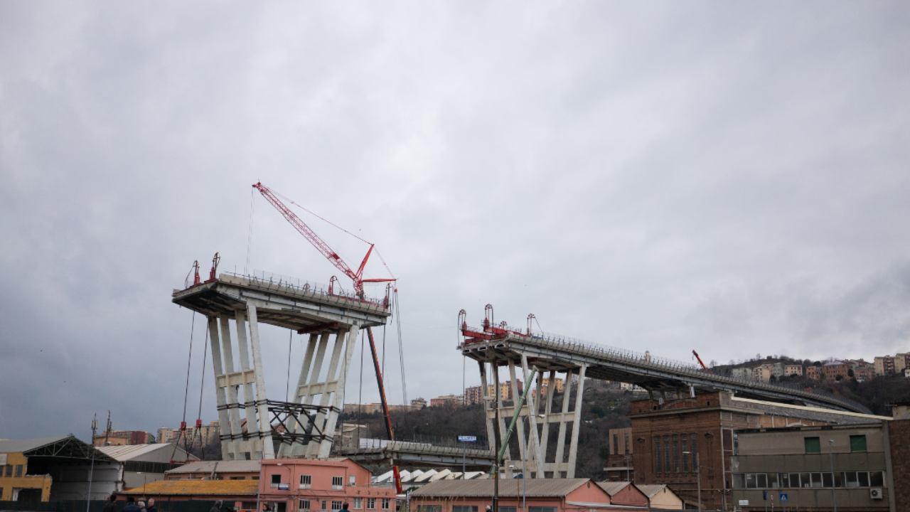 Ponte di Genova - operai coronavirus