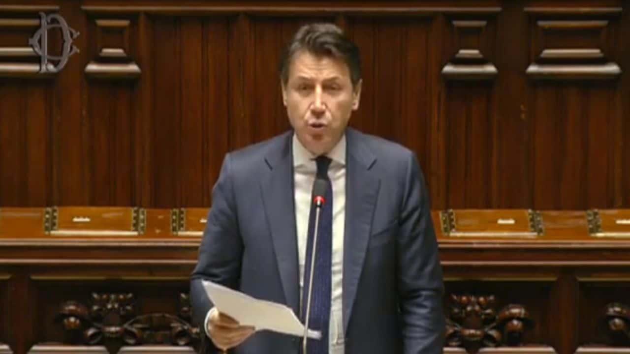 conte - informativa coronavirus al parlamento