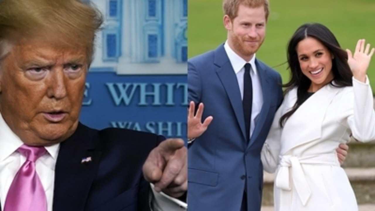 "Harry e Meghan arrivano negli USA | Trump: ""Pagherete!"""