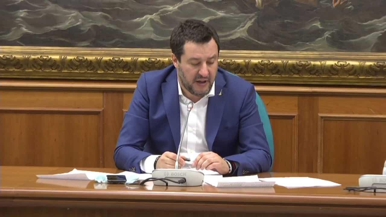 """Coronavirus, Salvini sul governo di unità nazionale: """"Per ri"""