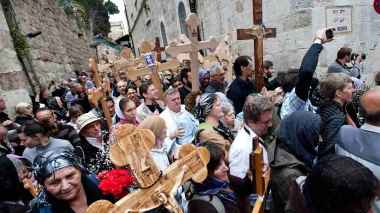 via crucis gerusalemme