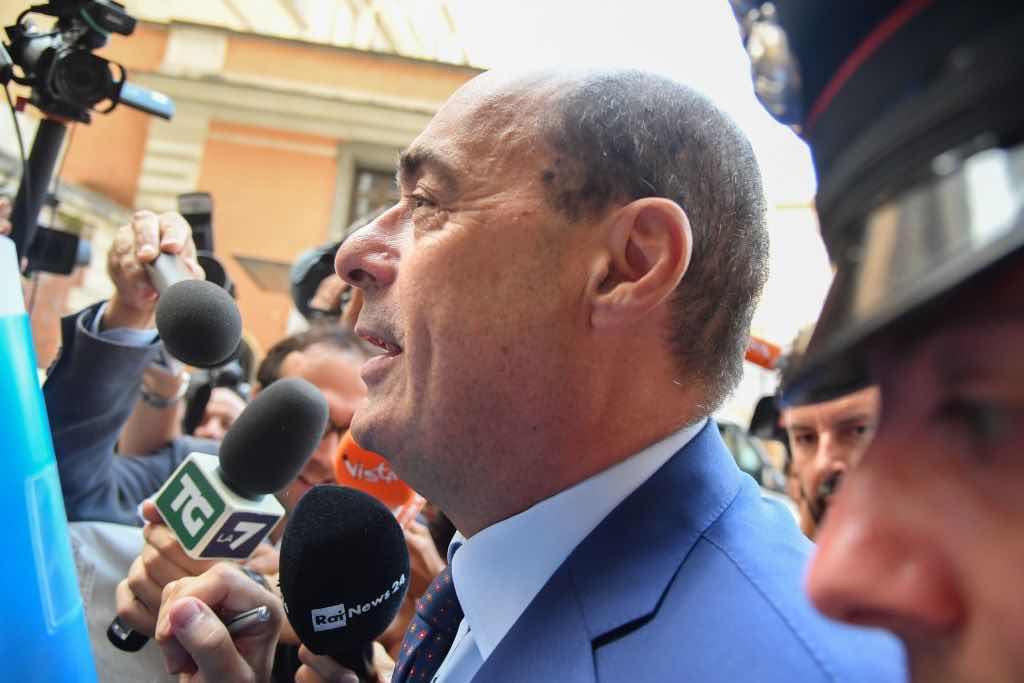 """Zingaretti: """"Un decreto dopo Pasqua, altrimenti non ce la fa"""