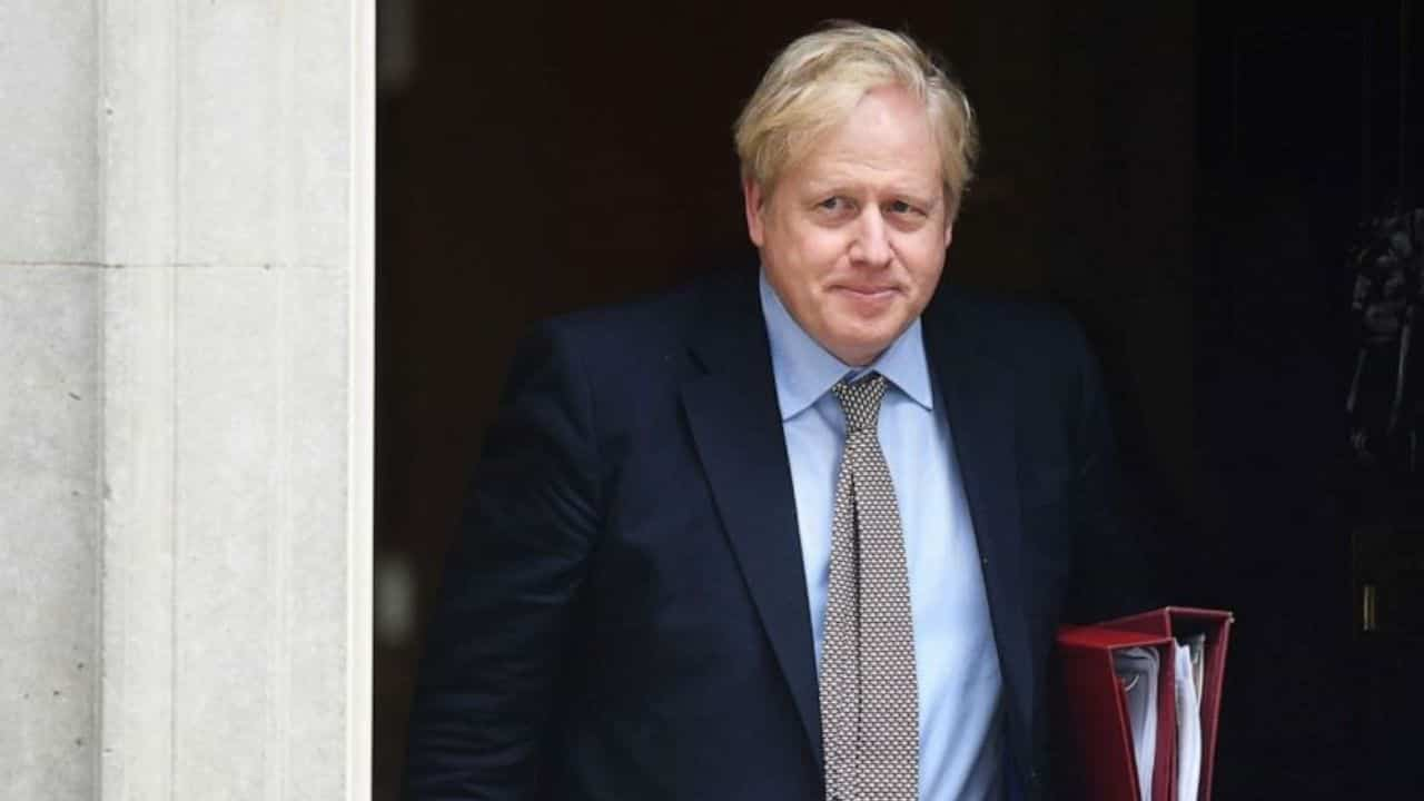Boris Johnson - negativo coronavirus