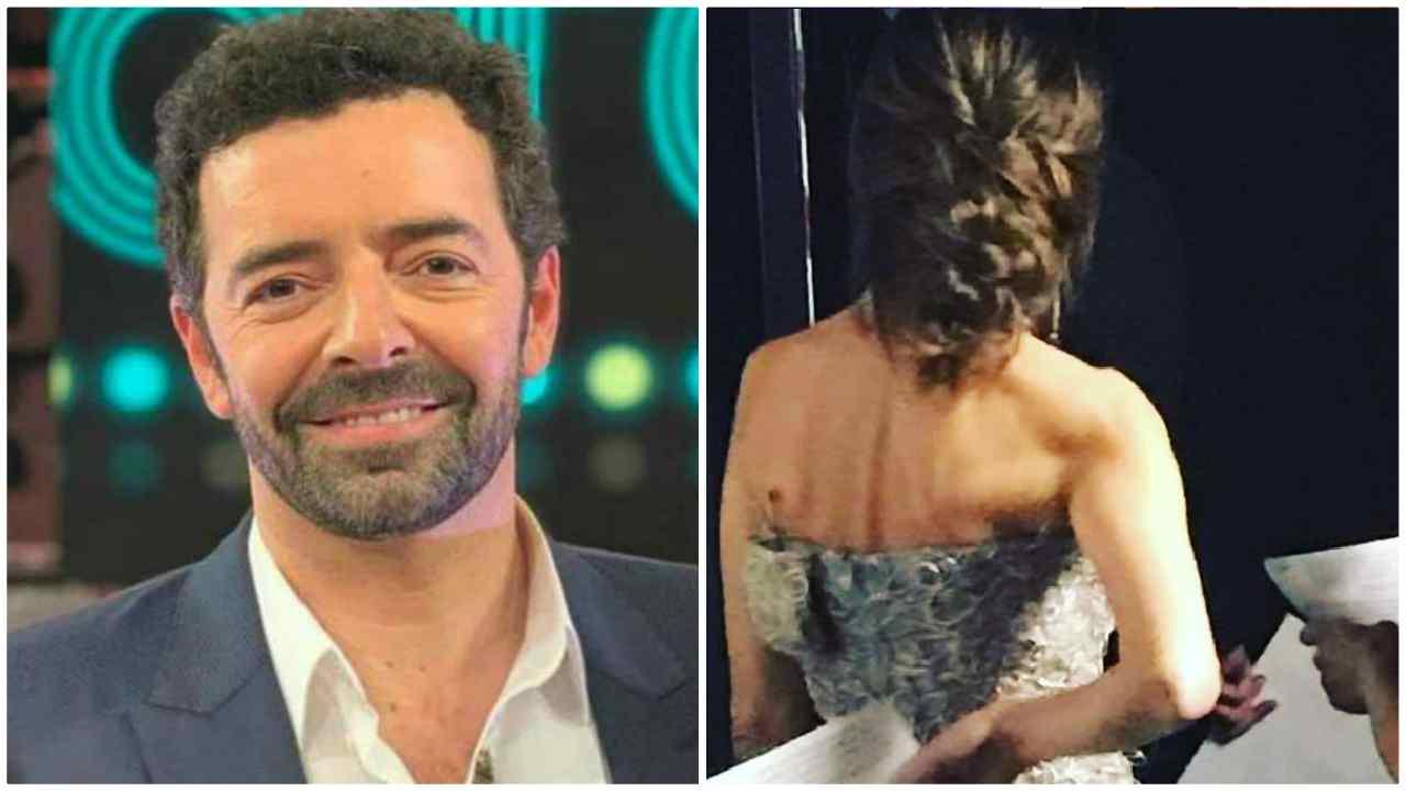 Alberto Matano feeling particolare con la bella giornalista?