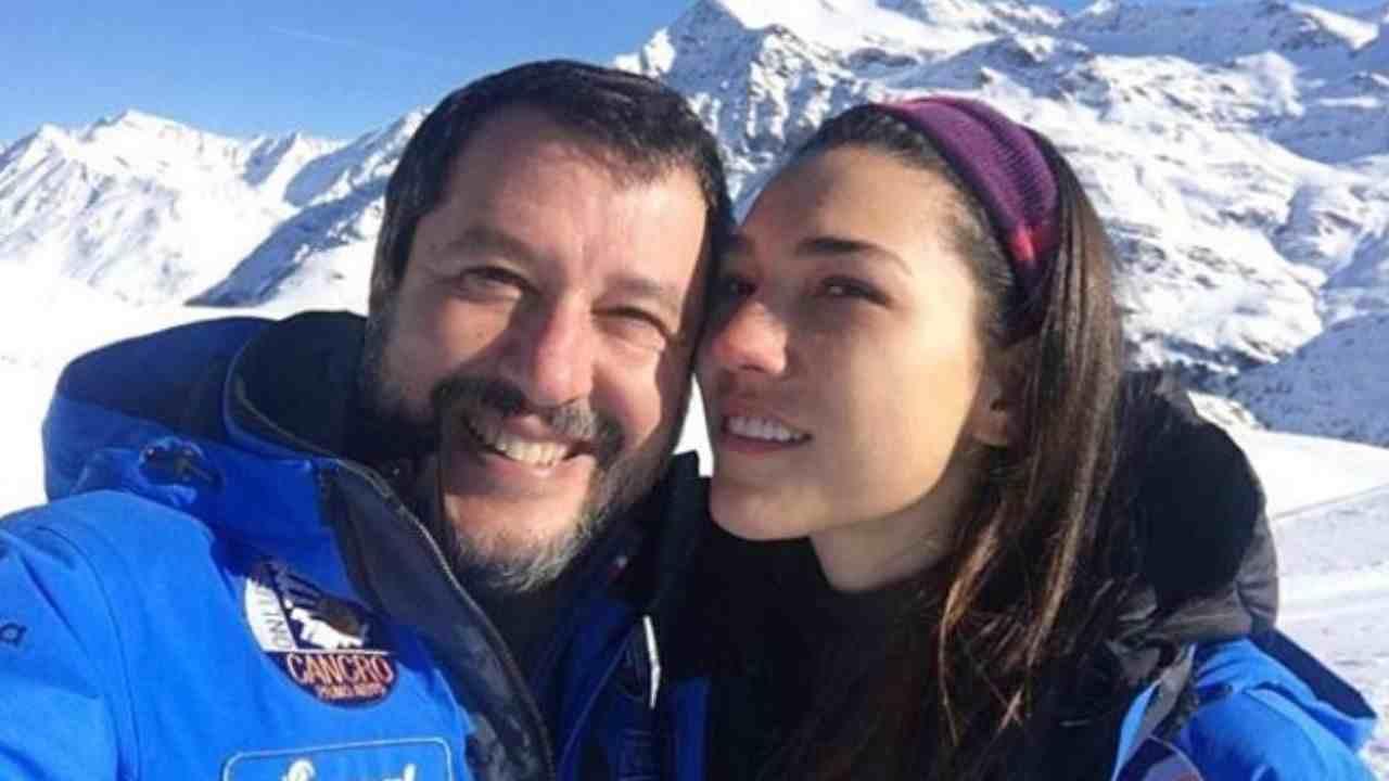 Francesca Verdini , momenti di paura per la fidanzata di Sal