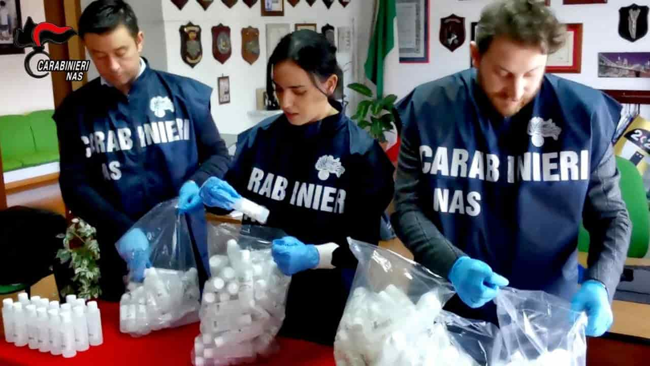 Coronavirus, maxi sequestro a Reggio Calabria: trovati 1.500