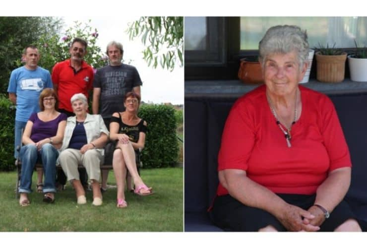 Suzanne Hoylaerts famiglia