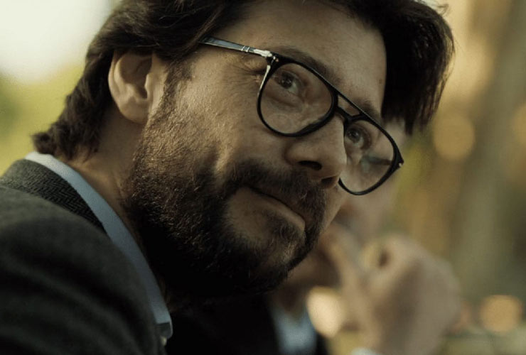 Alvaro Morte, Il professore
