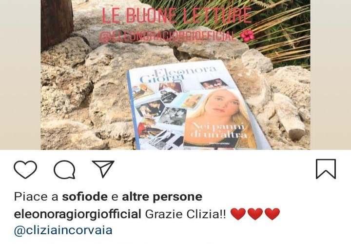 Eleonora Giorgi approva il Fidanzamento di suo figlio Paolo Ciavarro con Clizia