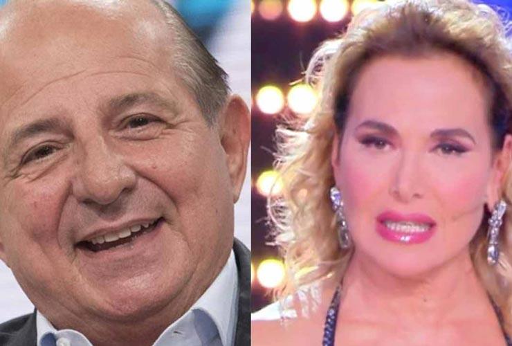 Giancarlo Magalli si schiera contro Barbara D'Urso: il perché