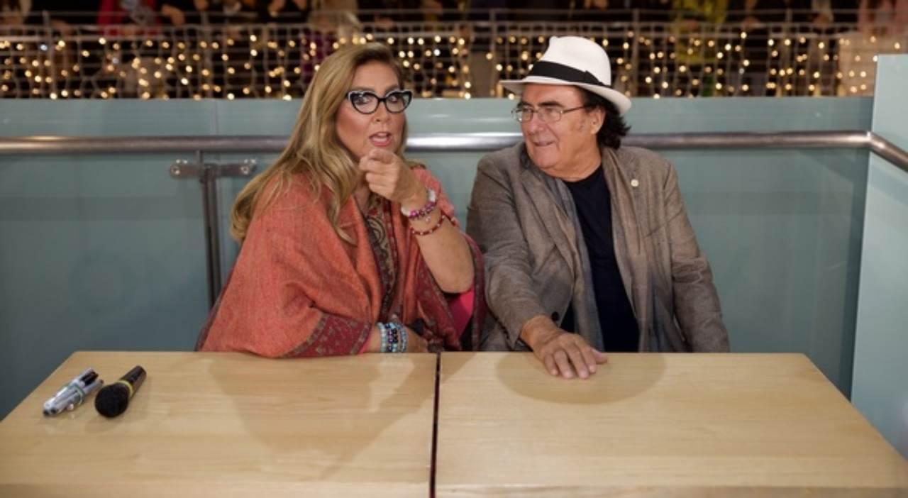 Albano e Romina telenovella senza fine   Il set è quello di