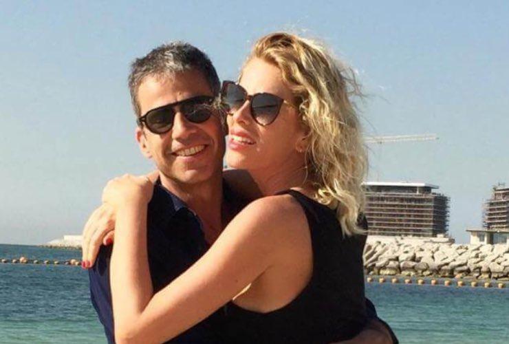 Alessia Marcuzzi e Paolo Calabresi Marconi - meteoweek