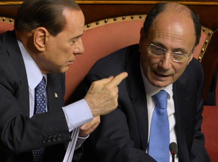 Berlusconi e Schifani