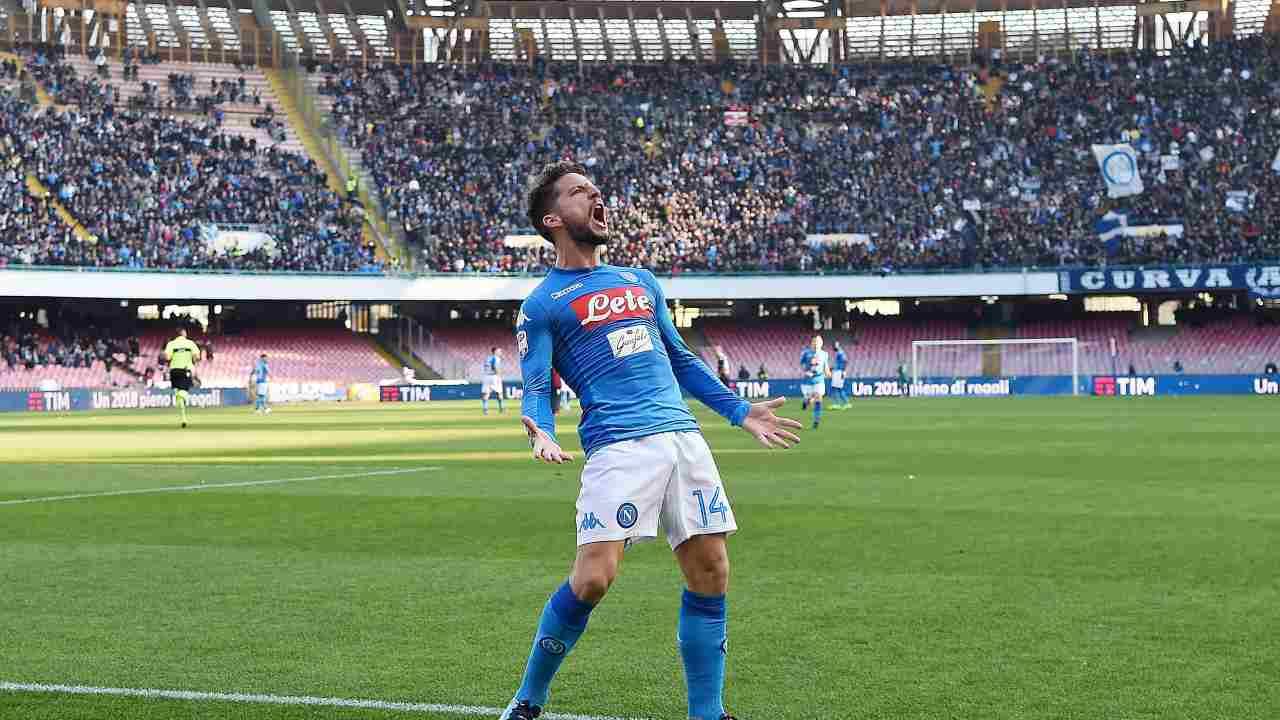 Colpo dell'Inter: Mertens è nerazzurro, contratto biennale
