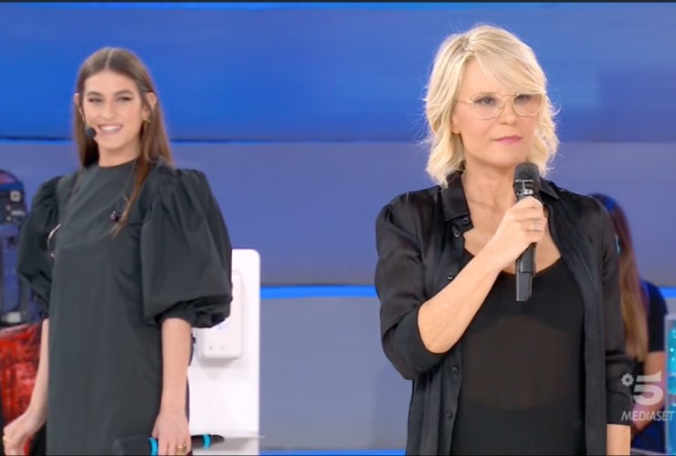 Gaia Gozzi e Maria De Filippi - meteoweek
