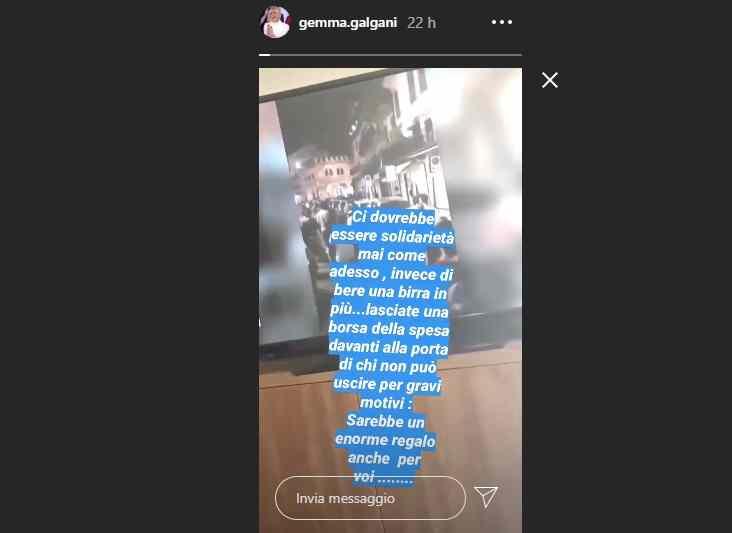 Gemma Galgani contro i giovani per la movida post lockdown (