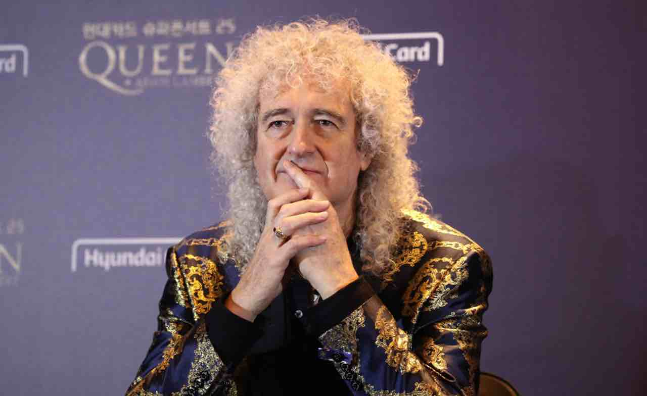 Brian May dei Queen ai fan: