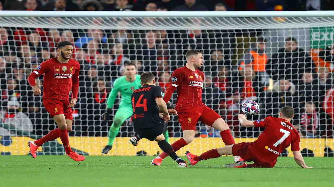 Champions, Liverpool-Atletico Madrid: gara all'origine di 41 morti per Covid